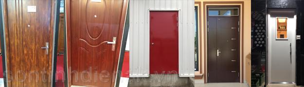 Quy trình và ưu nhược điểm của công nghệ sơn tĩnh điện cửa thép vân gỗ