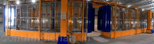 Tổng hợp các loại thiết bị sơn tĩnh điện do An Khanh Co.,Ltd cung cấp