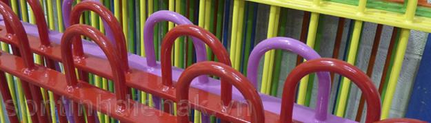 Hệ thống sơn tĩnh điện An Khanh có thể sơn được những loại vật liệu nào?
