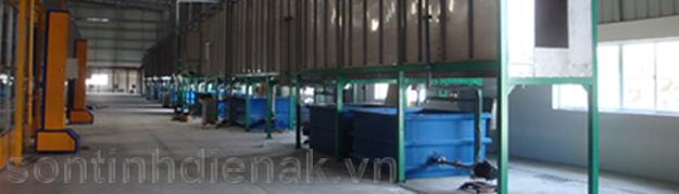 Hướng dẫn cách pha chế các bể hóa chất xử lý bề mặt sản phẩm sơn tĩnh điện
